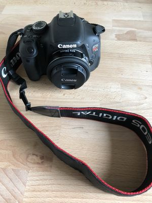 Canon Rebel T3i 18 Mega Pixel DSLR Camera (Body only) for Sale in Pittsburgh, PA