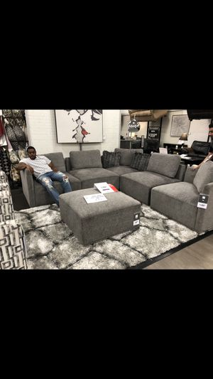 6Pc Modular Sectional- Like new for Sale in Springfield, VA