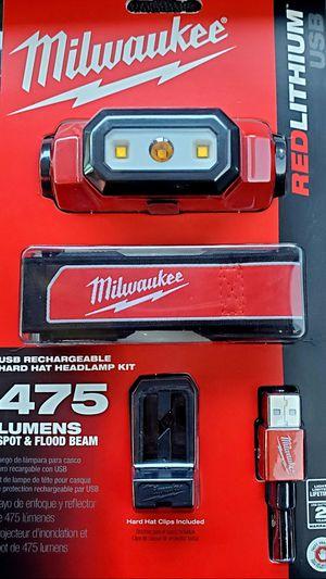 Milwaukee Rechargeable Headlamp for Sale in San Fernando, CA