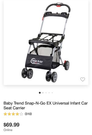 Universal car seat stroller Snap-N-Go for Sale in San Diego, CA