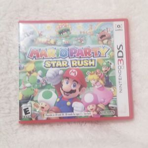 Mario Party Star Rush 3Ds Game for Sale in San Diego, CA