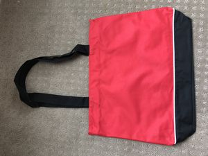 Red Shoulder Tote Bag with Zipper for Sale in Kaysville, UT