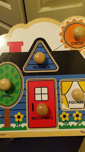 Melissa and Doug Jumbo Shape Puzzle for Sale in San Diego, CA