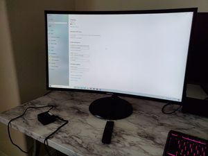 """Samsung 32"""" Curved Monitor 1920x1080 IPS 60 Hz Curved Gaming with built in speakers for Sale in Lewisville, TX"""