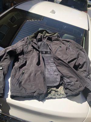 Kawasaki motorcycle black jacket for Sale in Las Vegas, NV