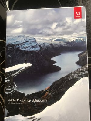 Adobe Photoshop Lightroom 6 for Sale in Hialeah, FL