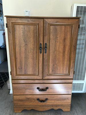 Wood Armoire Ashley Furniture for Sale in Pleasanton, CA