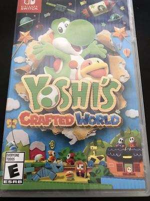 Yoshis crafted world Nintendo switch for Sale in Oakland, CA