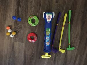 Baby toddler golf play toy set for Sale in Alexandria, VA