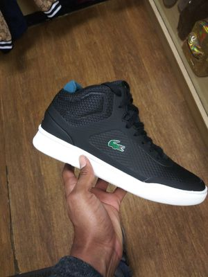 LACOSTE BLACK High top for Sale in Washington, DC