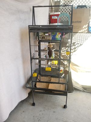 Bird cage size 33lenght 35 height for Sale in East Los Angeles, CA