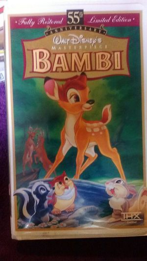Bambi vhs for Sale in San Diego, CA