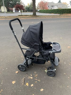 Joovy Caboose Black Double Stroller for Sale in Canby, OR