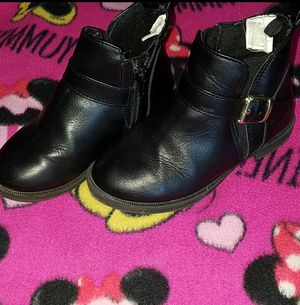 Girls black boots for Sale in Odessa, TX