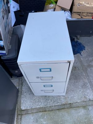 File cabinet new with dents 28 tall 15 wide 261/2 deep for Sale in Downey, CA