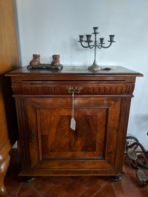 Antique Danish Locking Cabinet Table for Sale in Orlando, FL