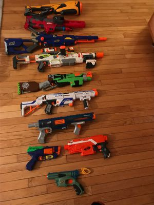 Nerf Guns With Mags And Ammo for Sale in Oakbrook Terrace, IL