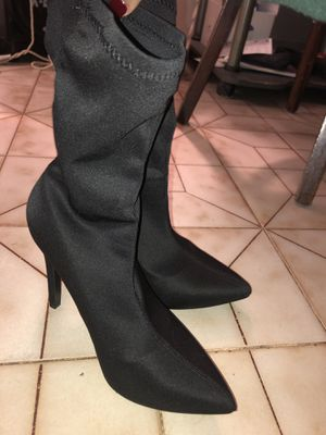 Satin Heeled Boots for Sale in Miami, FL