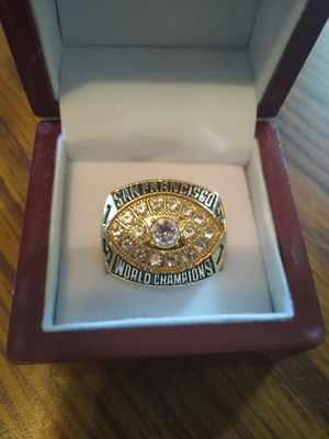 SF 49 ers Championship Ring with Display Case for Sale in BRECKNRDG HLS, MO