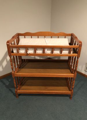 Baby changing table for Sale in Northfield, OH