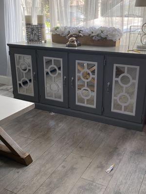 Gray Console table for Sale in Visalia, CA