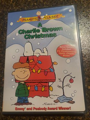 Charlie Brown Christmas dvd. Peanuts 1965 snoopy for Sale in Mokena, IL