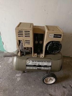 Craftsman compressor 1hp 12 gallon for Sale in Odessa, FL