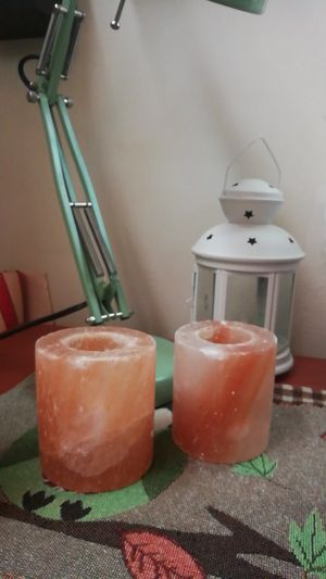 Himalayan salt candle holder for Sale in Monrovia, CA
