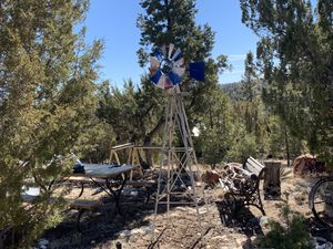 Windmill. Eight foot high, good condition. for Sale in Overgaard, AZ