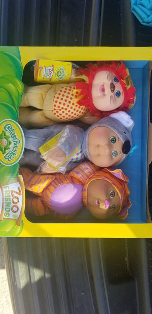 Cabbage Patch Kids ( Zoo Friends) for Sale in Pomona, CA
