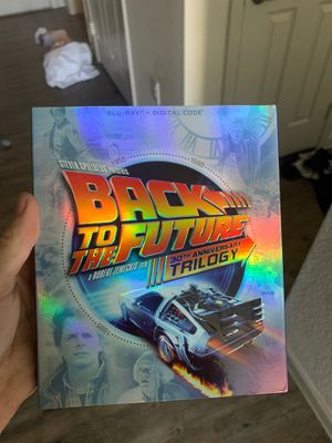 Dvd all 3 back to future for Sale in Austin, TX