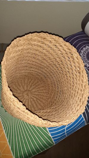 Basket with slight lean to one side for Sale in Las Vegas, NV