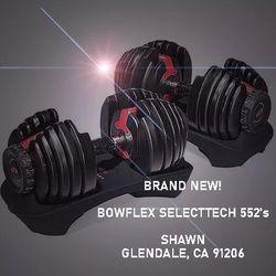 BOWFLEX SELECTTECH 552 - **NEW IN BOX** for Sale in Glendale,  CA