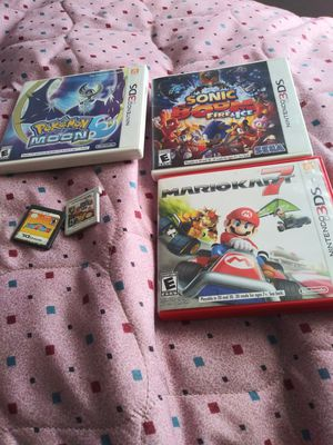 Nintendo 3DS And DS Video Games Bundled for Sale in Columbus, GA