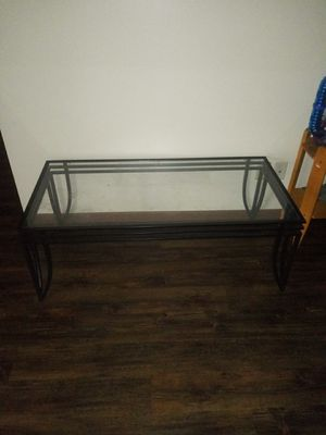 Glass table for Sale in Sparta, WI