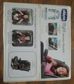Car Seat Chicco MyFit Harness + Booster for Sale in Newport News, VA