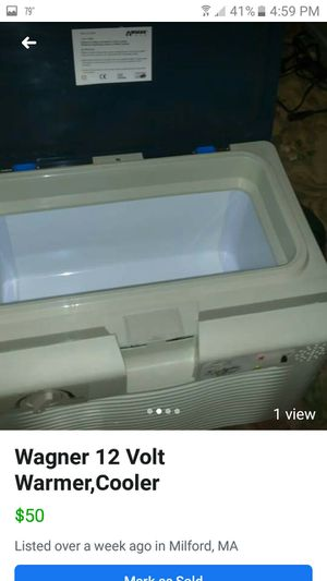 WAGNER 12 VOLT COOLER for Sale in Milford, MA