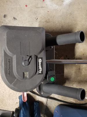 Scotty depthpower down rigger with dual rod holder for Sale in Tracy, CA