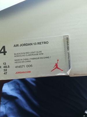 """Jordan 13 """"Olive"""" for Sale in Toms River, NJ"""
