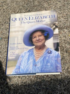 Signed Queen Elizabeth The Queen Mother hard cover book for Sale in Eau Claire, WI