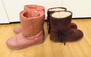 Girl's Boots Size 2 & 3 / winter boots for Sale in Boca Raton, FL