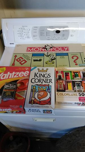 Games puzzle and cards lot for Sale in Visalia, CA