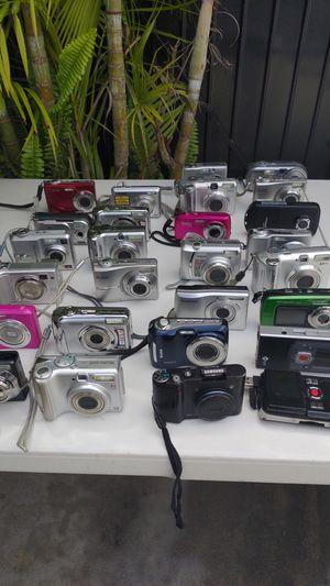 Selling huge lot of digital cameras for Sale in Oceanside, CA