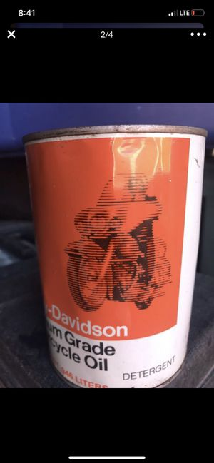 17Q HARLEY DAVIDSON MOTORCYCLE PREMIUM GRADE MOTOR OIL for Sale in Kissimmee, FL