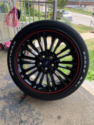"18"" Black Chrome Rims for Sale in Baltimore, MD"
