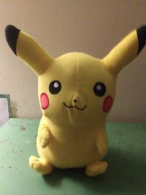 Pokemon Pikachu plush toy... for Sale in Ringgold, GA