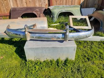1955 To 1959 R L Rear Fenders An L Side Cut Out For Spare tire And Rack for Sale in Lincoln,  CA