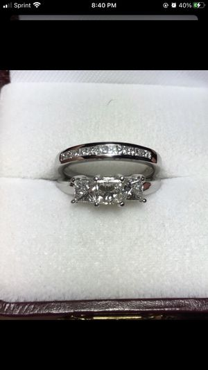 Engagement ring and wedding band for Sale in Pinellas Park, FL