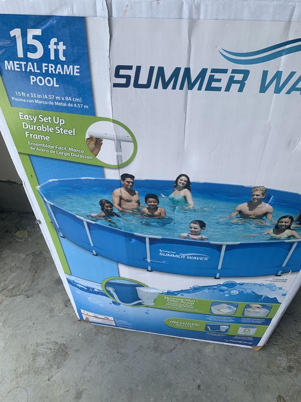 15x33 inch deep pool