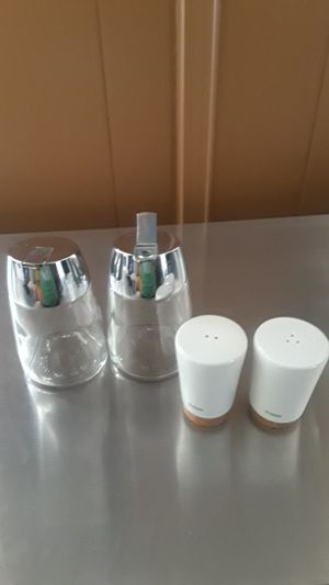 Salt shaker and storing jars for Sale in Santa Ana, CA